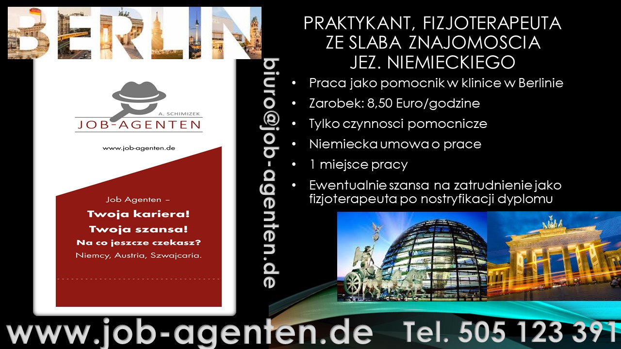Berlin, Stellenangebote, Physiotherapeut