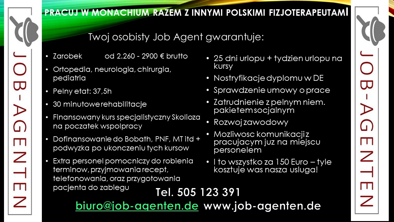 Physiotherapeut aus Polen