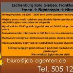 fizjoterapia frankfurt praca